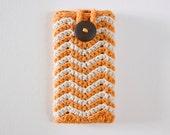 Zig Zag iPhone Case - Marmalade