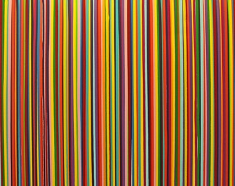 xxl abstrakt art painting 59 x 31 ( 150 x 80 cm)