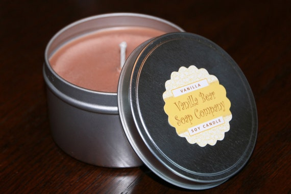 Soy Candles in Tins