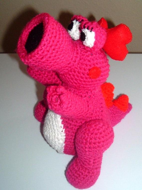 Crochet Amigurumi Super Mario Birdo