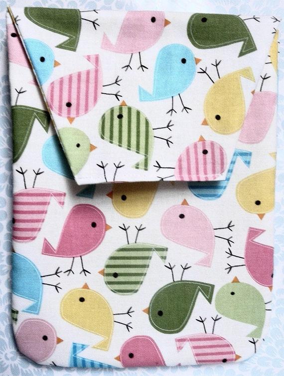Little Birdies Diaper Clutch