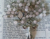 Miraculous Rosary - Rose Quartz