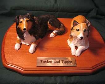 Custom Sculpted Statue of Your Own Pets.