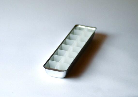 Ice cube Tray Vintage Retro Barware Ice Cube tray aluminium