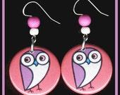 Pretty Pretty Owl EARRINGS
