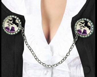 BATS love castles Sweater Guard Clip