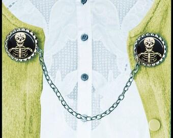 SKELETON Sweater Guard Clip