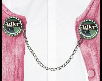 vintage Adler TYPEWRITER Sweater Guard Clip