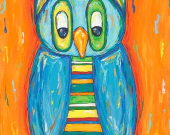 Striped Owl (original)