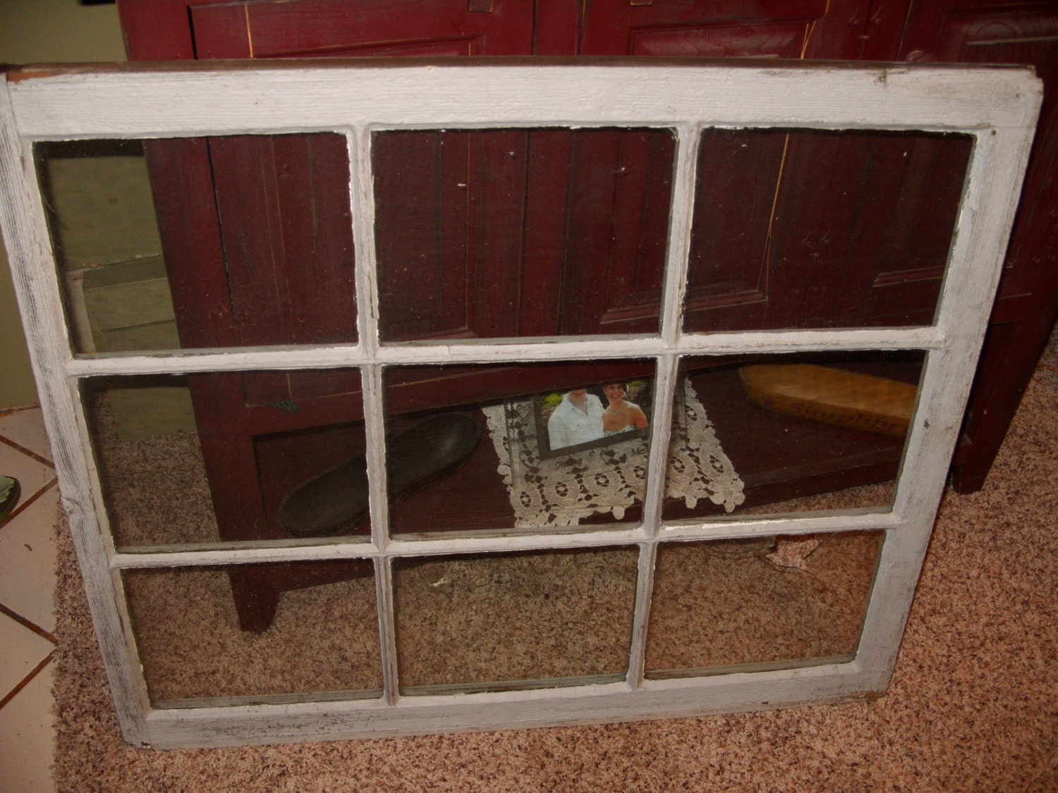 6 Pane window frame