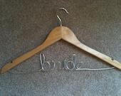 Maple Bride Bridal Wedding Hanger Ready To Ship