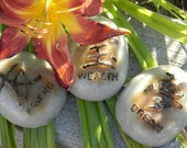 Inspirational Glycerin Soap Stones Chinese Symbols Gifts Spa Women Mom Sister Friend