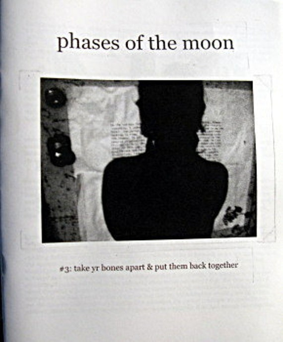 Phases of the Moon 03: take yr bones apart & put them back together