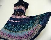 30% sales WRINKLED BATIK PRINT dress