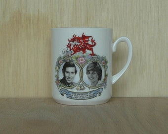 Charles and Diana Royal Wedding Mug By Nanrich Pottery