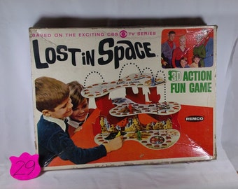 1960's Lost In Space 3D action fun game