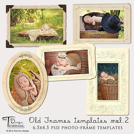 Digital  Frames Vintage  vol.2
