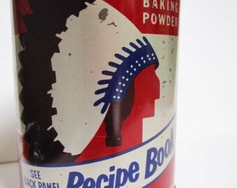 Vintage Calumet Baking Powder Tin