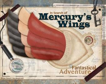 Fine Art Poster - Mercury's Wings