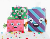 monstawrap - children's fun wrapping paper for birthdays and other other presents