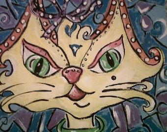 Whimsical Kitty Cat