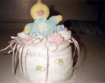 Baby Ducky Diaper Cake
