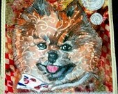This was done for a lady who commissioned it just cause' she thought her little pom was so adorable. She is right...sample
