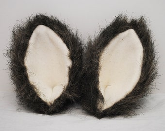 Gray Wolf Ears