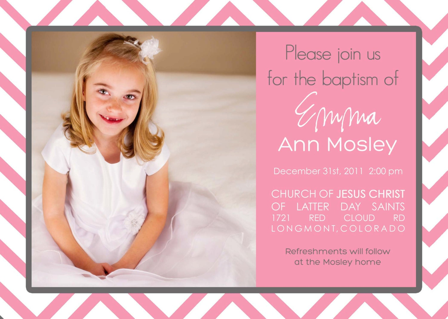 Sweet image intended for printable baptism invitations