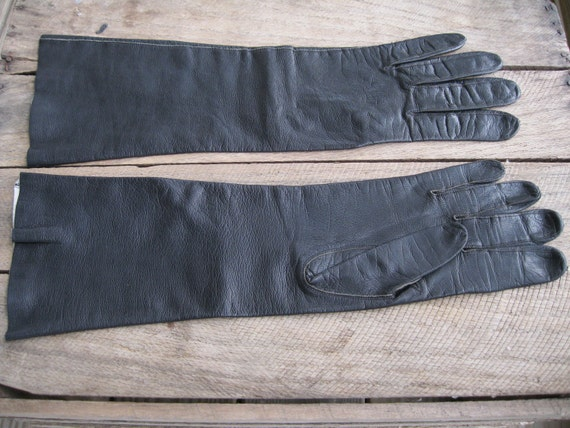 Reserved for Kara-Only purchase if you are her-Gloves-Black Ladies Gloves