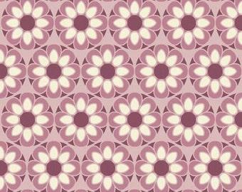 Riley Blake Fabric by the yard - So Sophie by Jen Allyson Purple Petal C2701 SALE