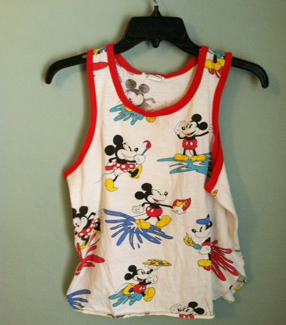 vintage mickey mouse top /////////ON HOLD//////////