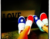Texas Flag Shoes