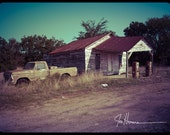 North Zulch Gas Station -8x10 Fine Art Photograph