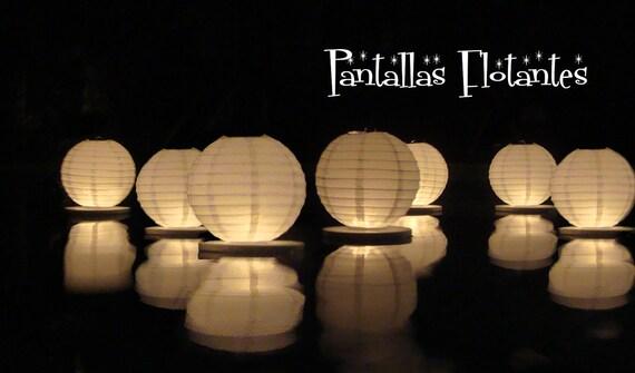Floating paper lanterns (15 pack)