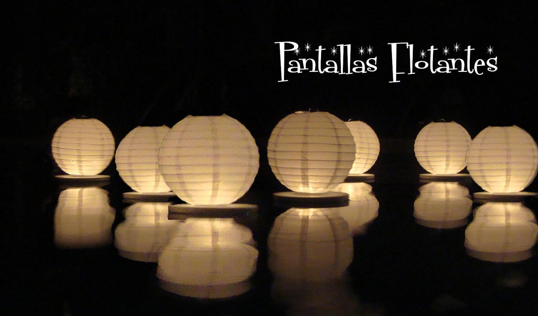 how to make floating water lanterns wedding