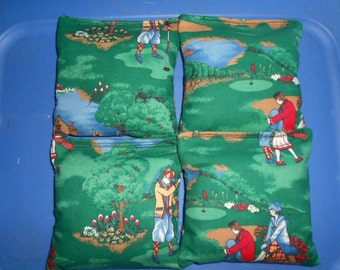 Golf  Cornhole Bags