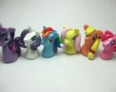 Tiny Pony Stitch Markers/Charms