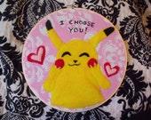 Pikachu Embroidery Hoop