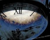 Frozen In Time - Abstract Photography, Clock Art, Surreal Art, Wall Art, Home Decor, 10x15, Fine Art Print
