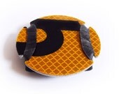 Cyclesign Bicycle Rear Reflector - Yellow, Recycled Bike Accessory
