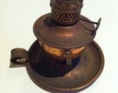 VINTAGE - Small oil lantern 'made in Hong Kong'