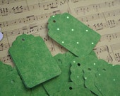 1.00 Set of 28 Foiled Green Dot Tags