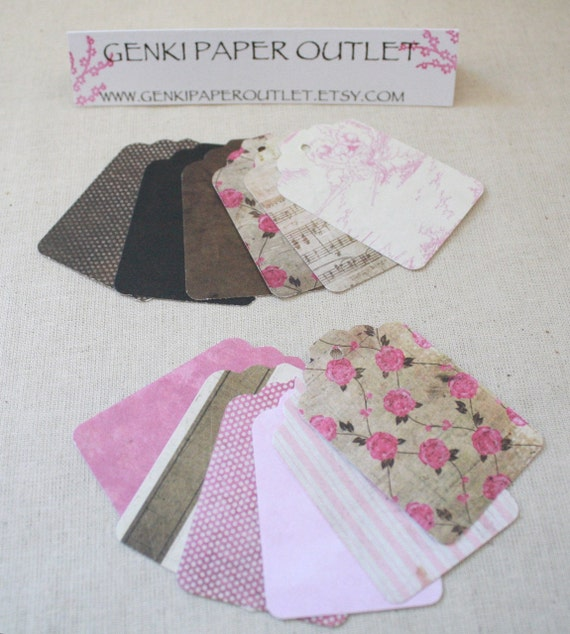 1.00 Set of 24 Assorted Pretty in Pink  Collection