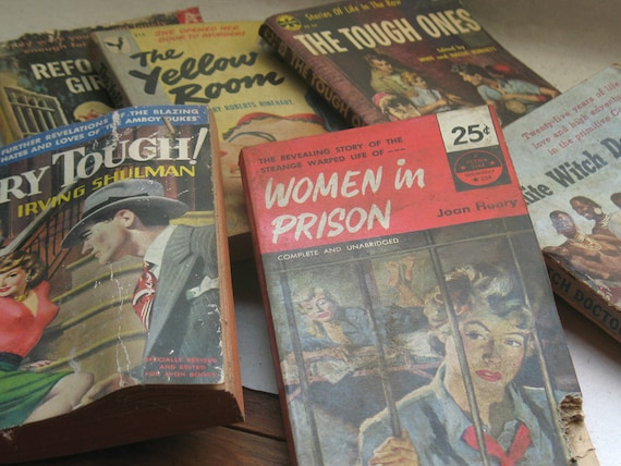 Crime and Sex Pulp Paperbacks