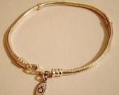 Authentic pandora bracelet ,20cm  gold