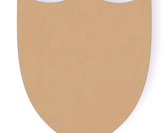12 Inch Shield Wood Craft Cutout Shapes
