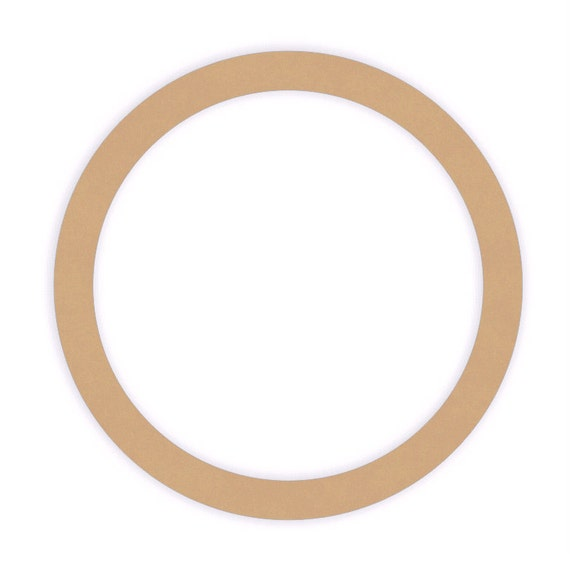 Inch Unfinished Wood Rings