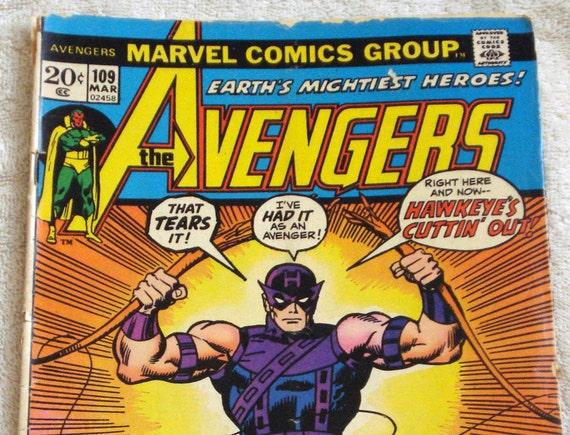 Avengers 1 000 000 Bc Marvel: The Avengers Comic Book Marvel Comics March 1973