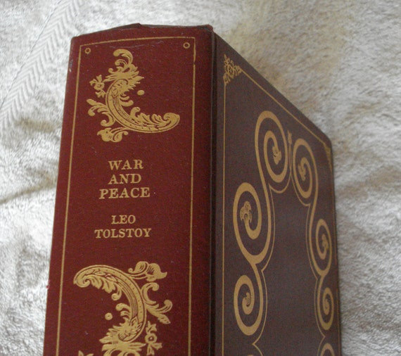 War and Peace by Leo Tolstoy, Vintage Book